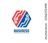 finance business   vector logo... | Shutterstock .eps vector #1036252498