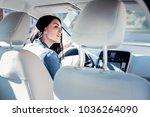 watch out. attentive cute... | Shutterstock . vector #1036264090