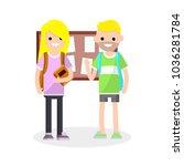 cartoon flat illustration  ...   Shutterstock .eps vector #1036281784