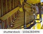 instrument tubing air supply... | Shutterstock . vector #1036283494