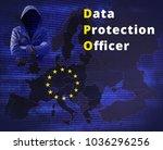 data protection officer   gdpr  ... | Shutterstock . vector #1036296256