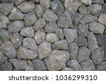 stone wall background | Shutterstock . vector #1036299310
