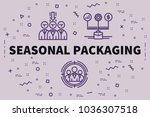 conceptual business... | Shutterstock . vector #1036307518