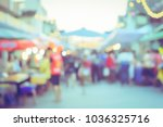 vintage tone blurred defocused... | Shutterstock . vector #1036325716