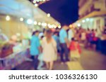 vintage tone blurred defocused... | Shutterstock . vector #1036326130