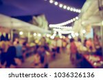 vintage tone blurred defocused... | Shutterstock . vector #1036326136