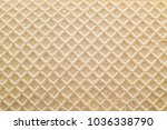 waffle sweet structure | Shutterstock . vector #1036338790