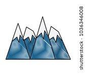 alps peakes icon    Shutterstock .eps vector #1036346008