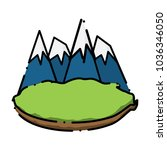 alps peaks icon    Shutterstock .eps vector #1036346050