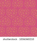 vector grid pattern with... | Shutterstock .eps vector #1036360210
