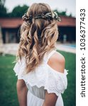 bride's wedding preparation | Shutterstock . vector #1036377433