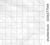 topographic map background....   Shutterstock .eps vector #1036377544