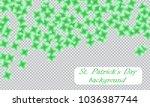 st. patrick s day background.... | Shutterstock .eps vector #1036387744