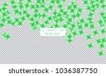 st. patrick s day background.... | Shutterstock .eps vector #1036387750