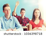 education  learning and people... | Shutterstock . vector #1036398718