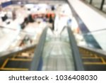 abstract blurred image of store.... | Shutterstock . vector #1036408030