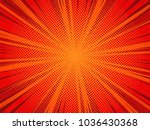comic book style red vector...   Shutterstock .eps vector #1036430368