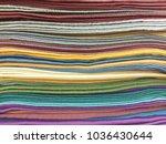 fabrics of india. india's... | Shutterstock . vector #1036430644