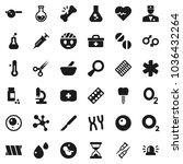 flat vector icon set  ... | Shutterstock .eps vector #1036432264