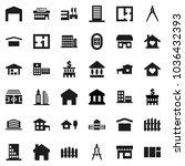 flat vector icon set   school...   Shutterstock .eps vector #1036432393