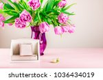 empty wooden blocks as calendar ... | Shutterstock . vector #1036434019