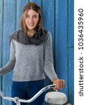 digital composite of woman... | Shutterstock . vector #1036435960