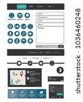 website template contact box