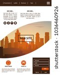 urban website template