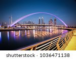 dubai  uae   february 2018 ... | Shutterstock . vector #1036471138