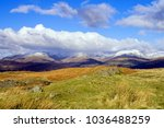fairfield horseshoe viewed from ... | Shutterstock . vector #1036488259