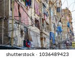 an apartment in sabra and... | Shutterstock . vector #1036489423