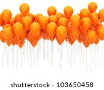 Party Balloons Isolated On...