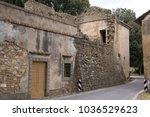 abandoned house from italian...   Shutterstock . vector #1036529623