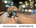 Crystal Ball On A Bench