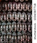 set of head gas lighter mock up ...   Shutterstock . vector #1036587718