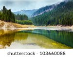 Landscape With Lake Galbenu In...
