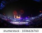 pyeongchang  south korea  ...   Shutterstock . vector #1036626763