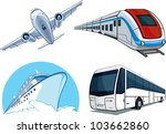Travel Transportation Set  ...