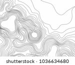 abstract black and white... | Shutterstock .eps vector #1036634680