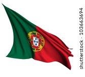 portugal flag   collection no_4 | Shutterstock . vector #103663694