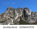 rock face table mountain | Shutterstock . vector #1036641910