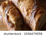 french bread  baguette | Shutterstock . vector #1036674058