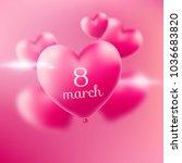 8 march. international women... | Shutterstock . vector #1036683820