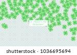 st. patrick s day background.... | Shutterstock .eps vector #1036695694