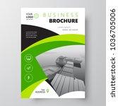 simple flyer brochure design...   Shutterstock .eps vector #1036705006