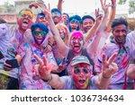 kathmandu nepal  mar 1 2018 ... | Shutterstock . vector #1036734634