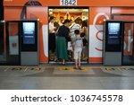 bangkok thailand   october 6 ... | Shutterstock . vector #1036745578