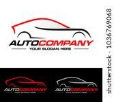car logo vector illustration.... | Shutterstock .eps vector #1036769068