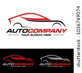 car logo vector illustration.... | Shutterstock .eps vector #1036769074