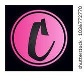 logo letter c | Shutterstock .eps vector #1036772770